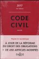 CODE CIVIL 2017 - 116E ED.